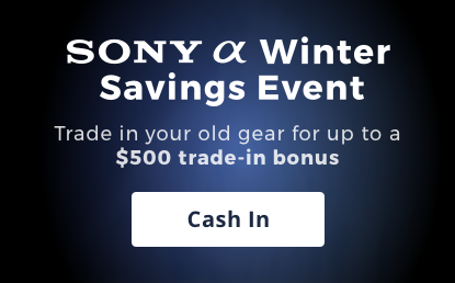 sony winter savings event