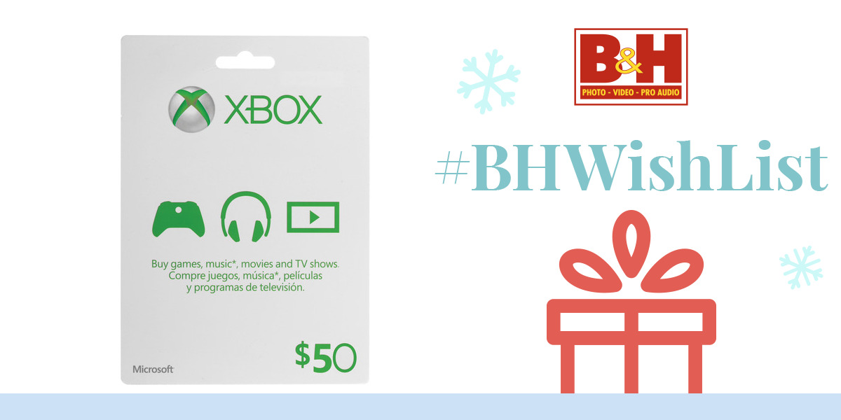 xbox one how to add gift card