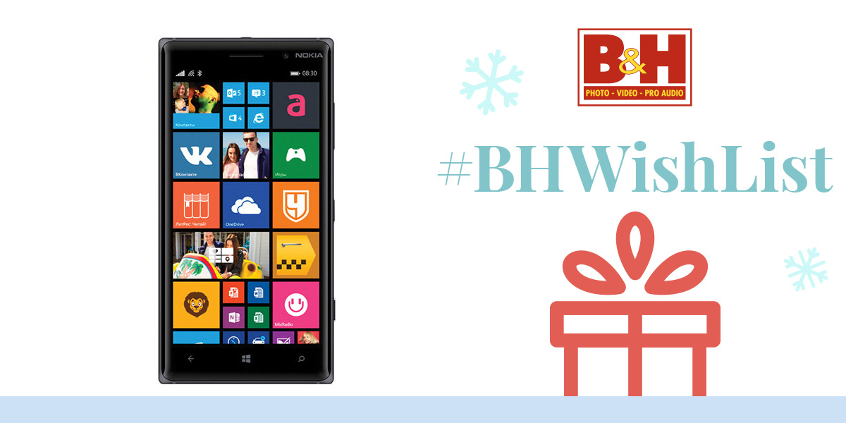 Nokia Lumia 830 RM-985 16GB Smartphone A00021287 B&H Photo ...