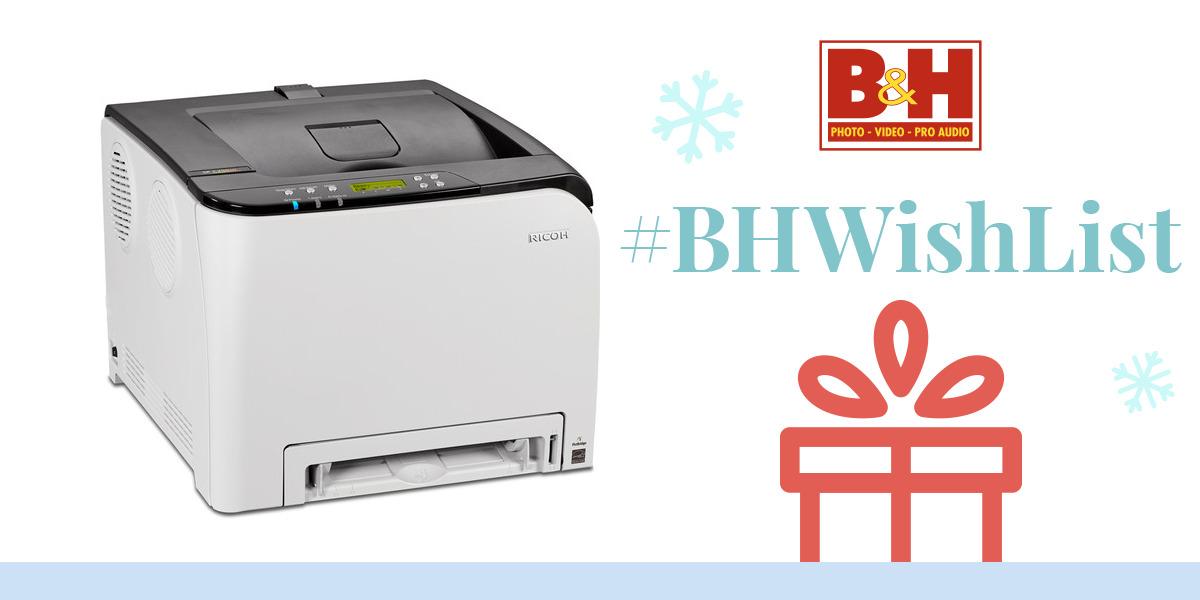 Ricoh SP C250DN Color Laser Printer 407519 BH Photo Video