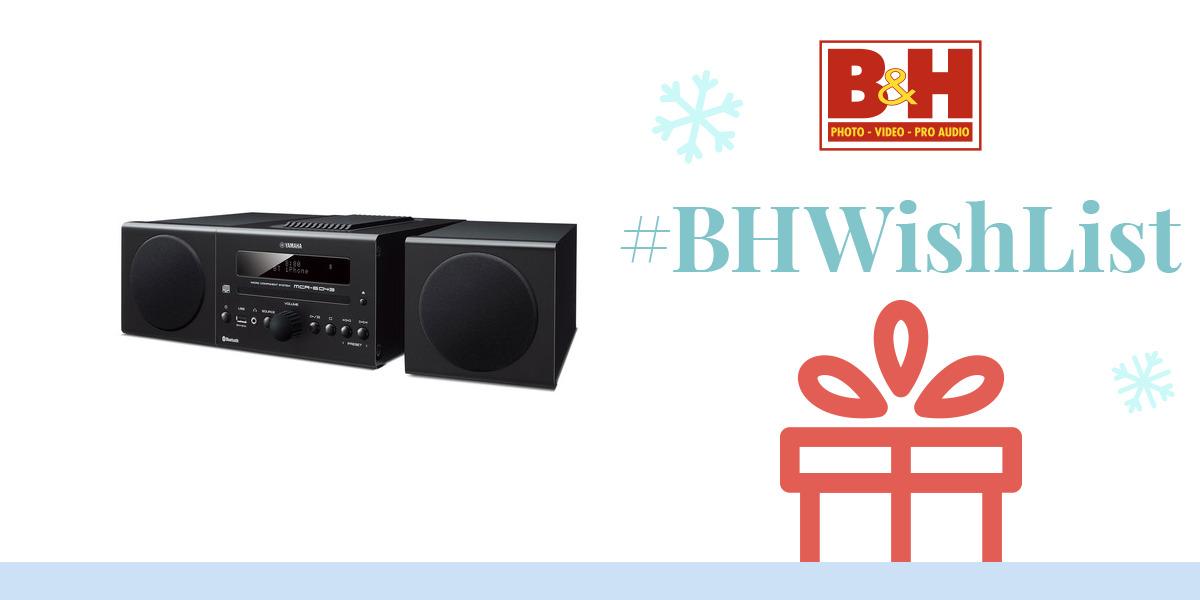 yamaha mcr b043 30w bluetooth wireless music system mcr b043bl. Black Bedroom Furniture Sets. Home Design Ideas