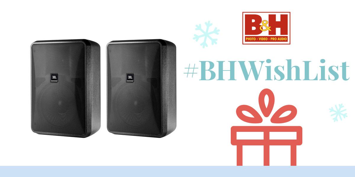 jbl control 28 1 high output indoor outdoor control 28 1 b h. Black Bedroom Furniture Sets. Home Design Ideas