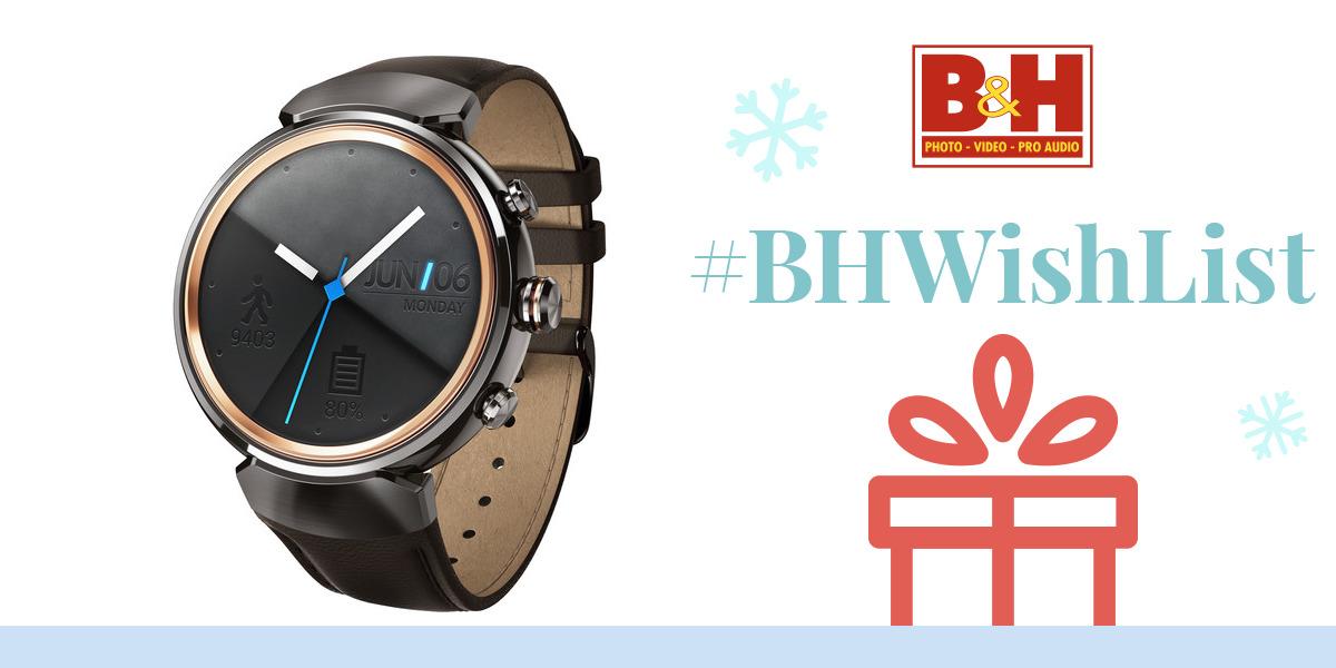 ASUS ZenWatch 3 Smartwatch WI503Q-GL-DB B&H Photo Video