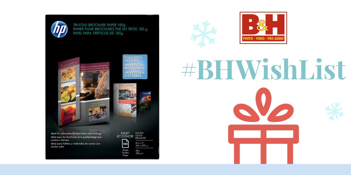 Hp tri fold brochure paper 100 sheets c7020a for Hp tri fold brochure template