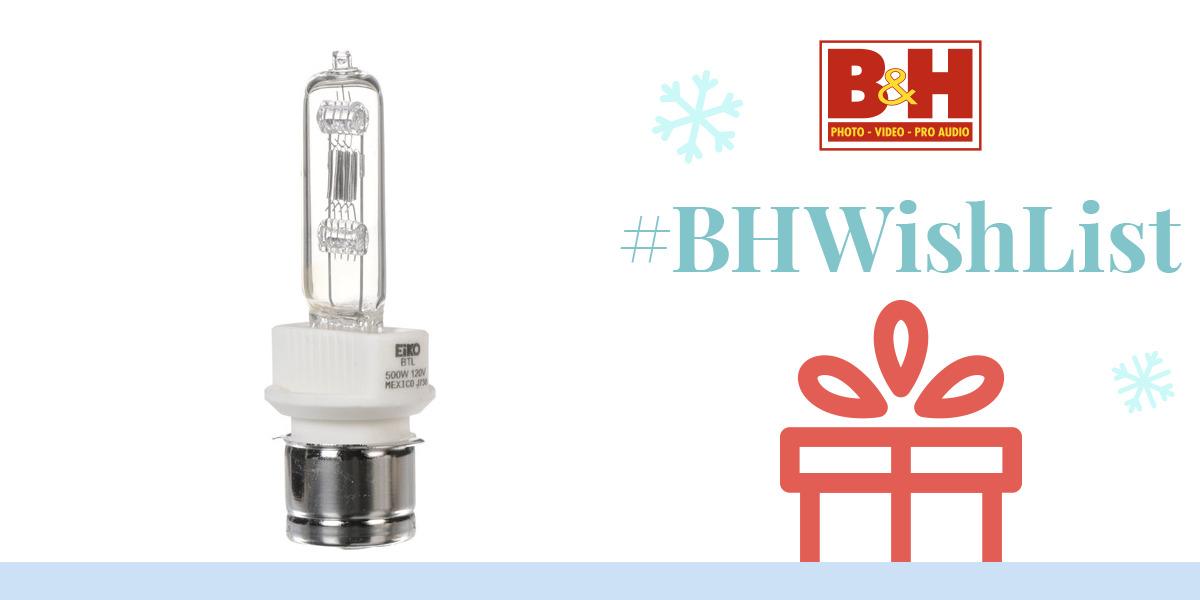 Eiko BTL Lamp (500W / 120V) BTL B&H Photo Video