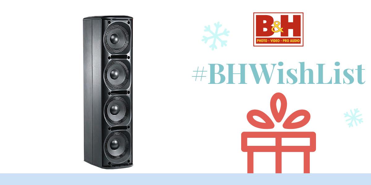 JBL CBT 70JE Line Array Extension Loudspeaker (White) CBT