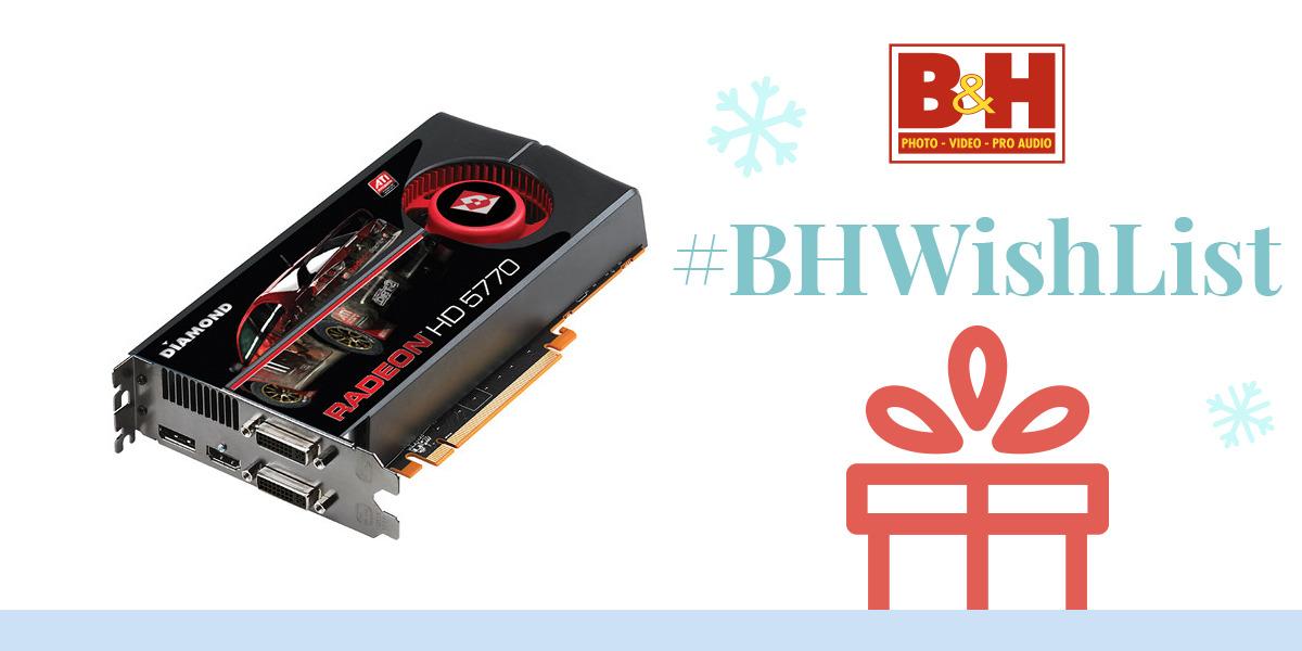 Diamond ATI Radeon HD 5770 Display Card 5770PE51GSB B&H Photo