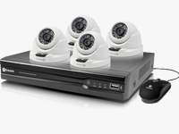 Turret & Bullet Outdoor Security Cameras