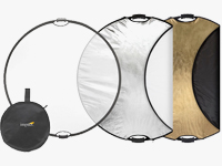 5-in-1 Collapsible Circular Reflectors