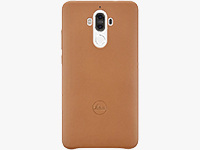 Mate 9 Leather Leica Case (Light Brown)