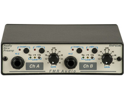 FMR Audio Offers the Really Nice Preamp