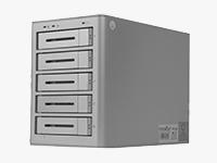 Rocsecure DE52 5-Bay USB 3.0 RAID Arrays