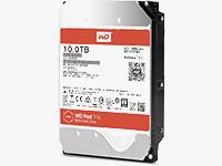 10TB WD Red Pro Internal NAS Drive