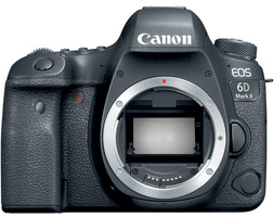 EOS 6D Mark II DSLR Camera (Body Only)  Now in Stock