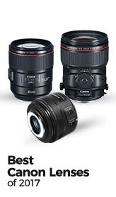 Best Canon Lenses of 2017