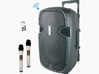 Portable 2-Way Wireless & Bluetooth Enabled PA Systems