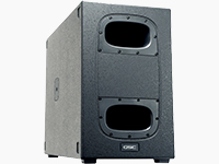 "3600W Dual 12"" Cardioid Subwoofer"