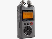 B&H Exclusive - Luminous Gray DR-40 Digital Audio Recorder