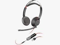 Blackwire 5220 USB Type-C On-Ear Headsets
