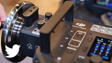 SPOTTED: The newly announced DJI Master Wheels make an appearance on the #NABShow floor!