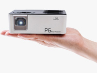 Pico P6 Portable LED Projector with Battery