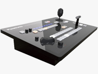 Production Streaming Switcher with PTZ Camera Control