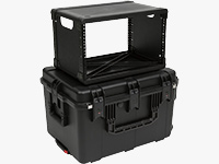 """iSeries Injection-Molded 13"""" Fly Rack Cases"""
