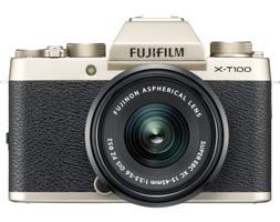 Fujifilm Elevates Entry Level with X-T100 Mirrorless Camera