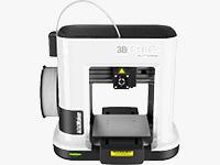 XYZprinting da Vinci miniMaker 3D Printer (Black/White Edition)
