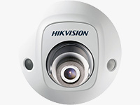 Outdoor Network Mini Dome Camera with Night Vision