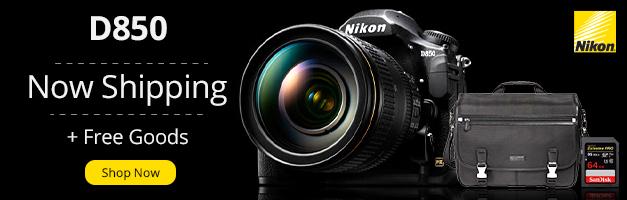 Nikon D850 Banner