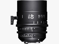 40mm T1.5 FF Canon EF Mount High-Speed Prime Lenses