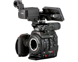 Cinema EOS C300 Mark II Camcorder Body with Touch Focus Kit (EF Mount) - Now Available