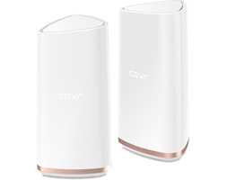 Covr Tri-Band Whole Home AC2200 Tri-Band Wi-Fi System from D-Link.