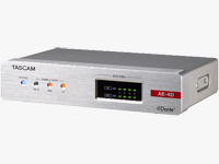 AES/EBU Input/Output Dante Converter with Built-In DSP Mixer