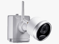 LWB4801AC2 1080p Outdoor Wire-Free Bullet Camera with Night Vision