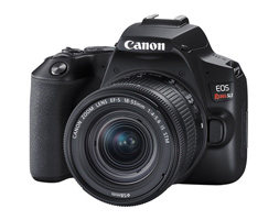 The Canon EOS Rebel SL3: Small, Lightweight, Better than Ever