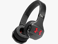 Under Armour Sport Wireless Train On-Ear Headphones (Black/Red) - Now Shipping
