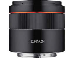 Rokinon Expands Offerings with Full-Frame 45mm f/1.8 for Sony E