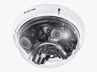 S Series 20MP Outdoor Multisensor Network Dome Camera