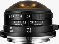 Laowa 4mm f/2.8 Fisheye Lens for Micro Four Thirds
