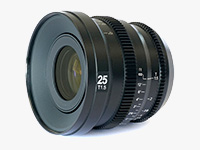 MicroPrime Cine 25mm T1.5 Lens (MFT Mount)