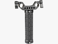 Rubber Handgrip with Rod Bracket for Shoulder Rig (15mm LWS)