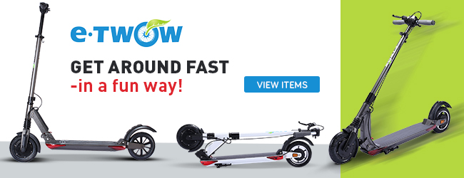 e-TWOW Scooter Banner