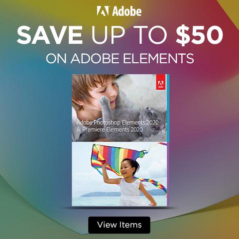 Adobe Elements Banner