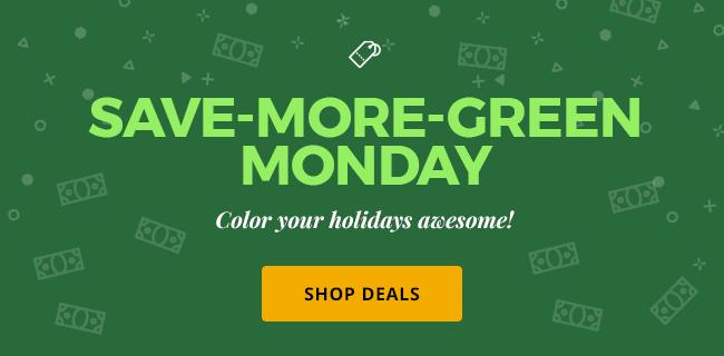 Green Monday Deals