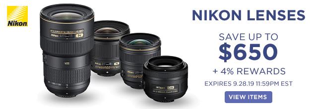 Nikon Lenses Banner