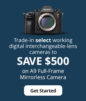 Save $500 on A9 Full-Frame Mirrorless Camera