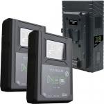 On Camera Video Battery Kits