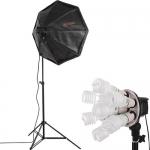 Octa7 Fluorescent 1-Light Kit